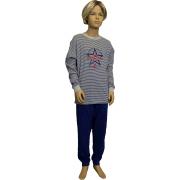 Outfitter jongens pyjama 'Superstar' grijs
